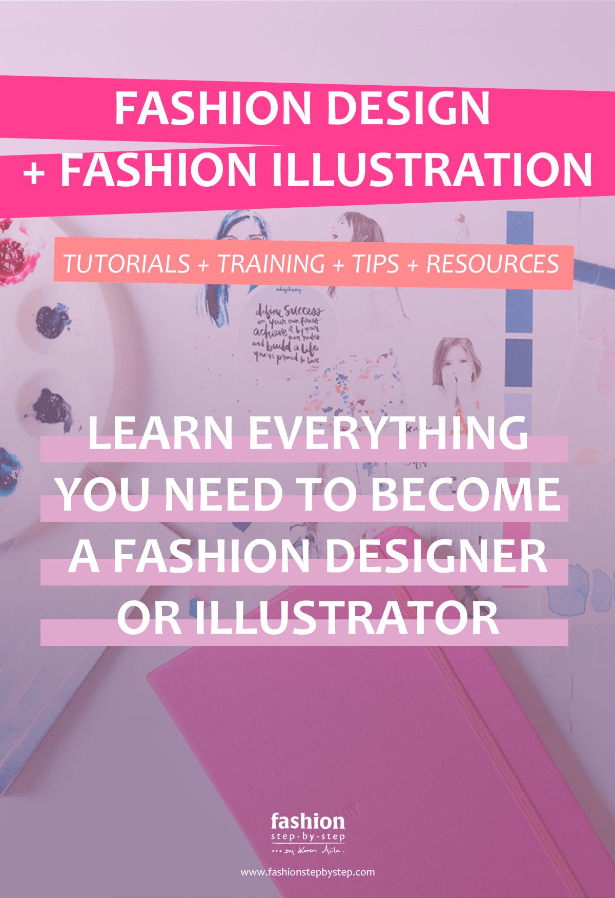 Fashion Design Fashion Illustration Tutorials Fashion Step By Step