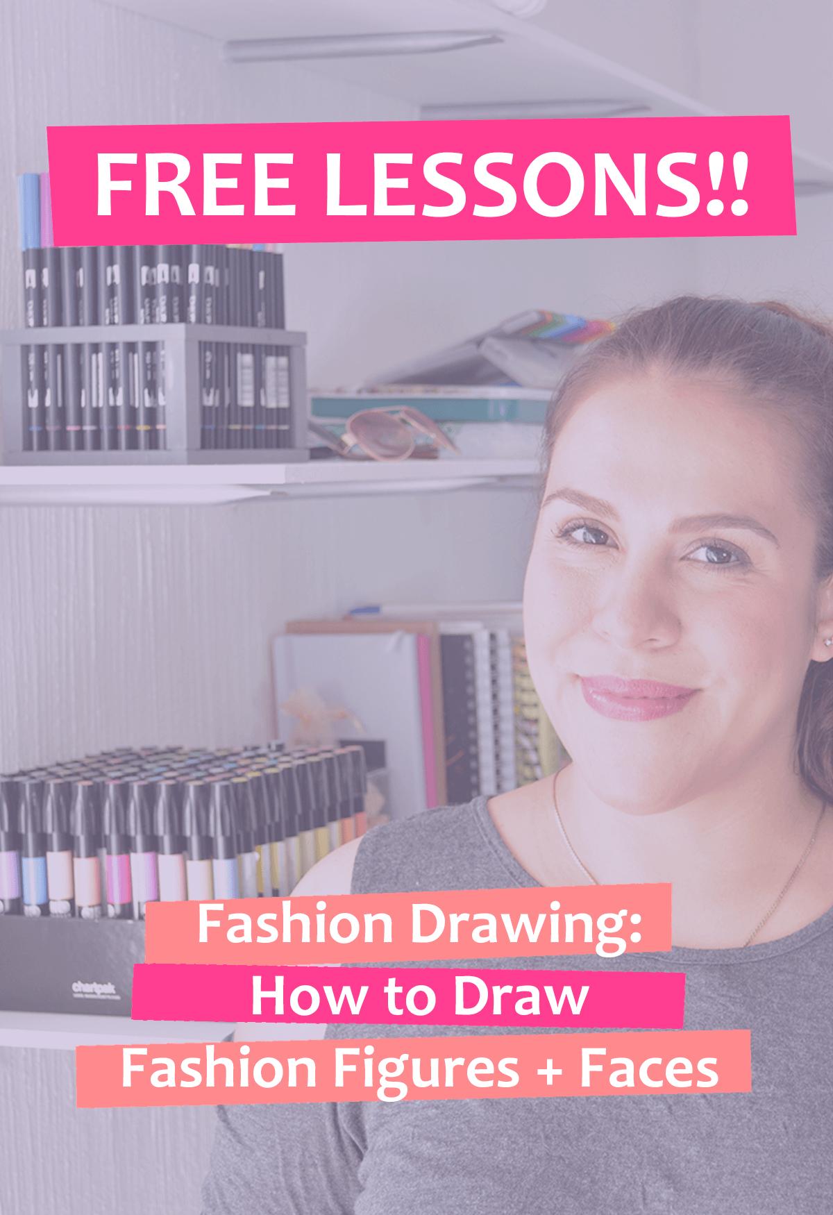 Free Fashion Drawing Lessons Fashion Step By Step